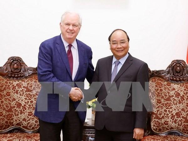 阮春福总理:越南一直希望与美国加强教育领域的合作 hinh anh 1