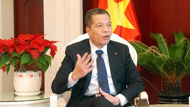 越南驻华大使邓明魁:阮富仲访华有助于进一步加强两国在各领域的合作 hinh anh 1
