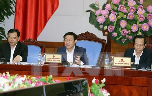 王廷惠副总理:鼓励企业加大对农业发展及扶贫领域的投资力度 hinh anh 1