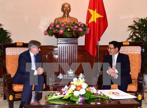 越南与西班牙副外长级政治磋商在河内举行 hinh anh 1