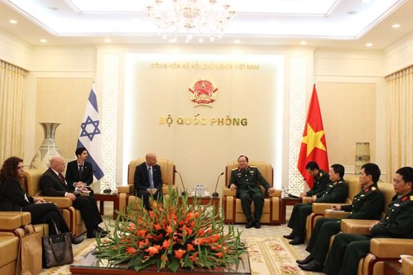 越南与以色列加强防务合作 hinh anh 1