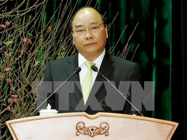 阮春福总理:需确保经济与文化和谐发展 hinh anh 1