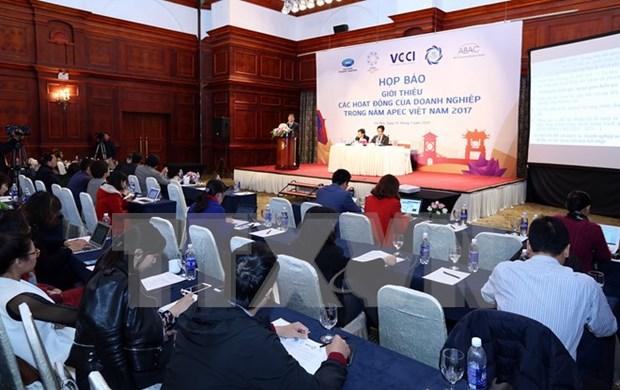 2017年越南APEC峰会期间企业活动频繁 hinh anh 1