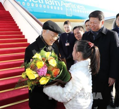 越南中央对外部部长黄平军:推动越中关系健康、积极与稳步发展 hinh anh 1