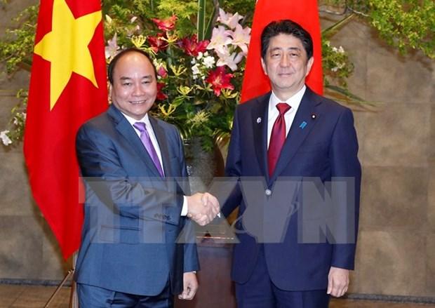 日本首相安倍晋三访越充分体现日方高度重视日越深广战略伙伴关系 hinh anh 1