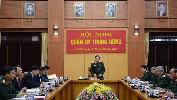越共中央军委总结2016年工作 hinh anh 1