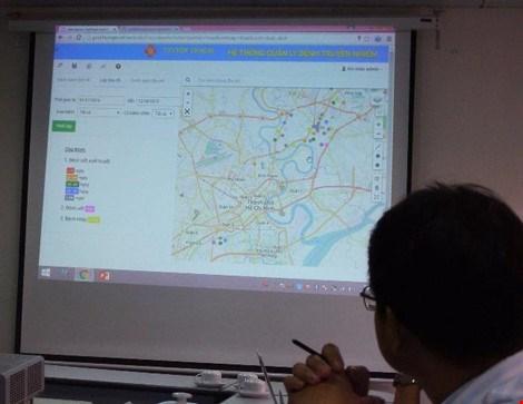 胡志明市加强在疾病控制中的地理信息系统应用 hinh anh 1