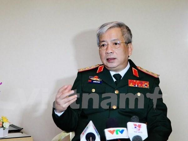 2016年越南积极展开多边防务合作 hinh anh 1