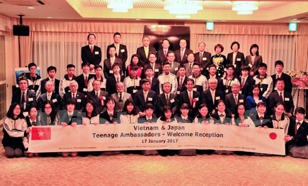 日越青少年大使交流会在日本举行 hinh anh 1