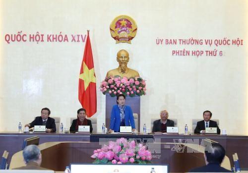 越南第十四届国会常委会第六次会议今日闭幕 hinh anh 1