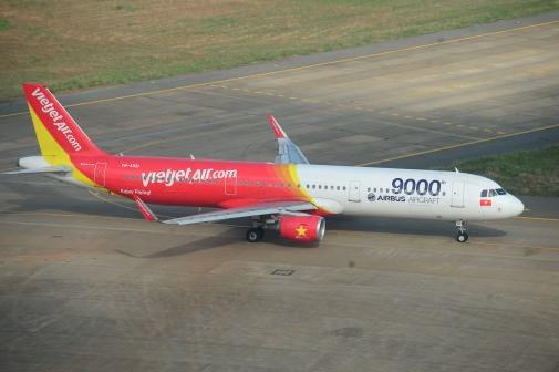 越捷航空公司将于2017年4月开通河内市至新加坡直达航线 hinh anh 1