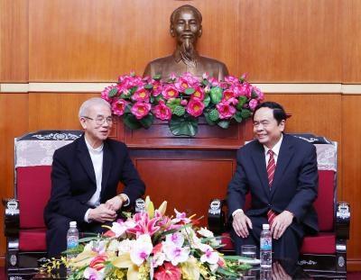 越南天主教团结委员会呼吁天主教信徒同胞为国家建设与发展事业做出贡献 hinh anh 1
