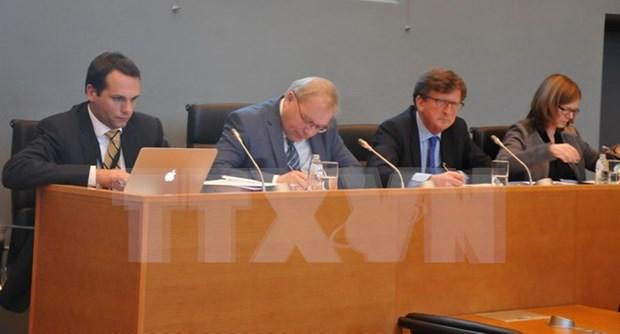 比利时瓦隆大区议会召开越欧自贸协定第三次听证会 hinh anh 1