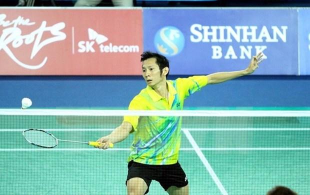 羽联排名:越南羽毛球名将阮进明仍保持在世界第42位 hinh anh 1