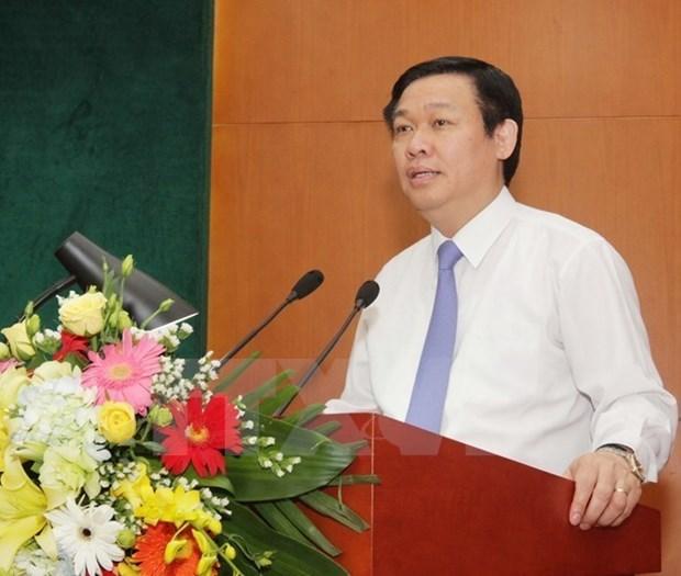 王廷惠副总理:力争实现企业重组双重目标 hinh anh 1