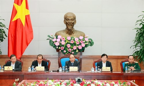 阮春福总理:不让交通拥堵现象影响人民群众春节返乡之路 hinh anh 1
