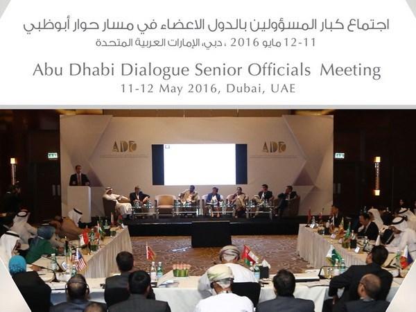 第四届阿布扎比对话机制部长级磋商会在斯里兰卡开幕 hinh anh 1