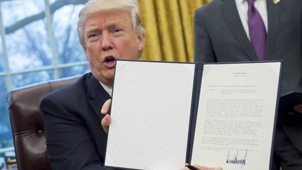 美国正式退出TPP 马防长呼吁特朗普不减少美国对亚太地区的承诺 hinh anh 1