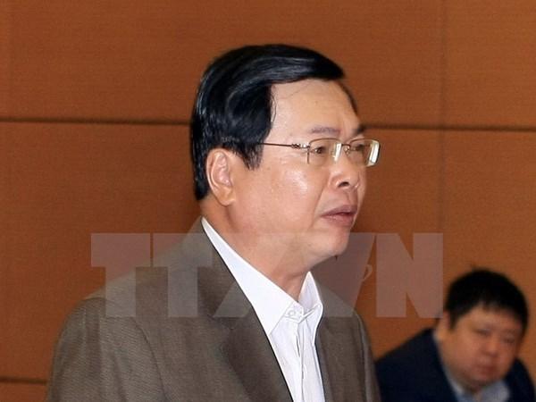 越南国会常务委员会对武辉煌发出纪律处分决议 hinh anh 1