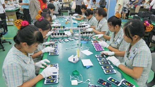 2016年越南从中国的手机及零件进口额达61.43亿美元 hinh anh 1