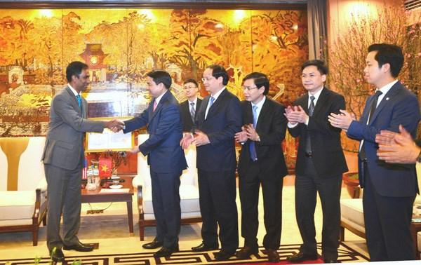 河内市向可口可乐越南公司颁发调整注册资金许可证 hinh anh 1