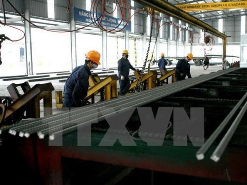 2017年越南钢铁工业预计增长12% hinh anh 1