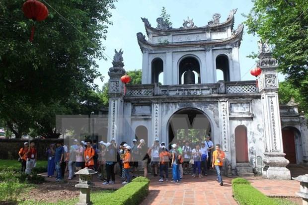 走进越南史上的第一所大学——文庙--国子监 hinh anh 1