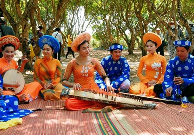 越南坚持才子弹唱艺术正确发展方向不动摇 hinh anh 1