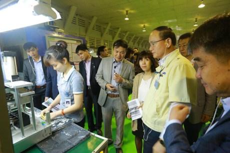 越南29家企业有望成为三星的供应商 hinh anh 1