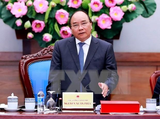阮春福总理要求春节后各机关干部职公抓紧时间完成任务 hinh anh 1