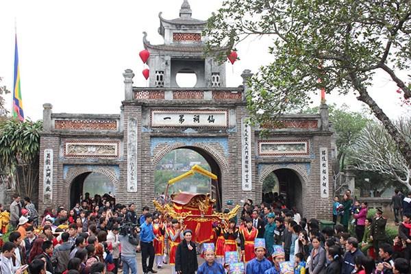 越南各大传统庙会纷纷开庙 喜迎游客贺新春 hinh anh 1