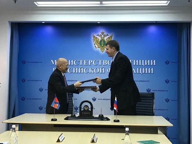 柬埔寨与俄罗斯签署《引渡条约》 hinh anh 1