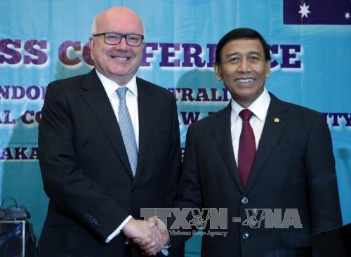澳大利亚与印尼加强安全司法合作 hinh anh 1