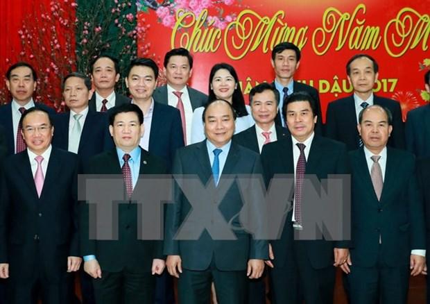 阮春福总理:国家审计署是防止财政与公共资产管理中权力滥用现象的机构 hinh anh 1