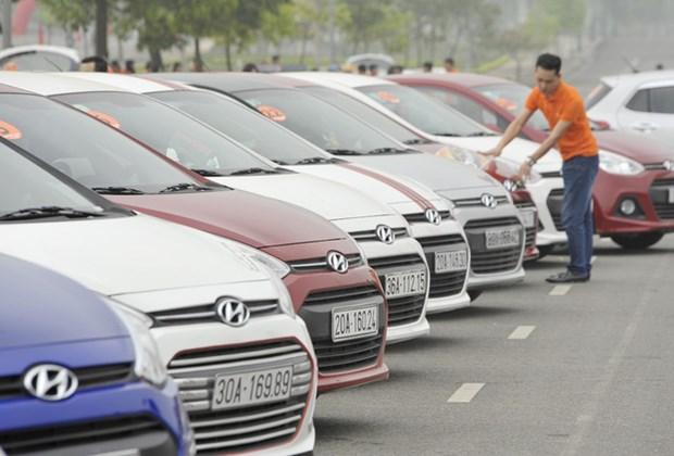 2017年1月份越南的原装汽车进口额达1.65亿美元 hinh anh 1