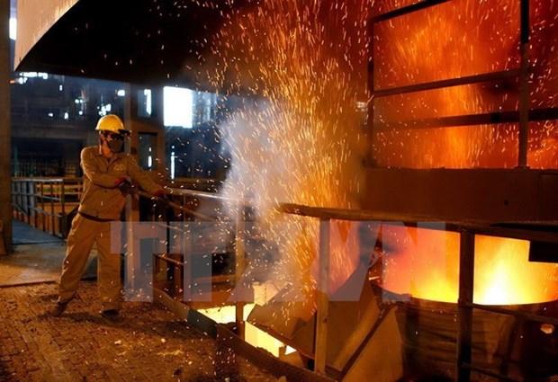 越南广义省榕桔和发钢铁生产联合体建设项目获颁投资许可证 hinh anh 1