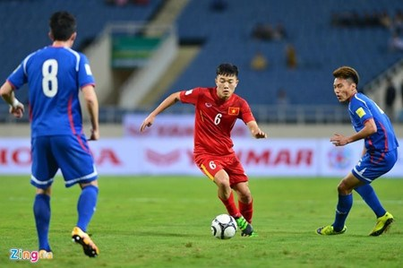 越南国家足球队将与中国台湾队进行友谊赛 hinh anh 1