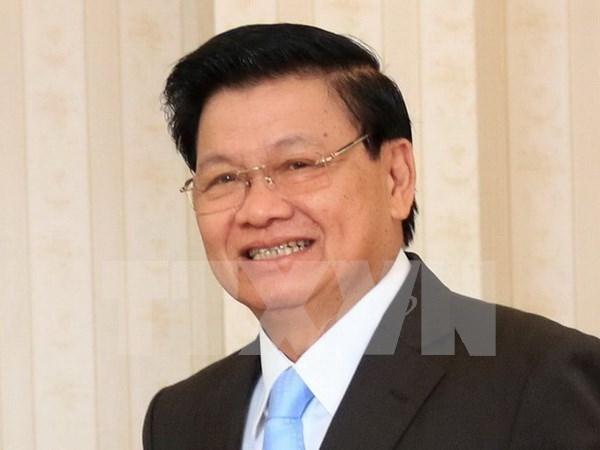 老挝总理通伦·西苏里赴越出席越老政府间委员会第39次会议 hinh anh 1