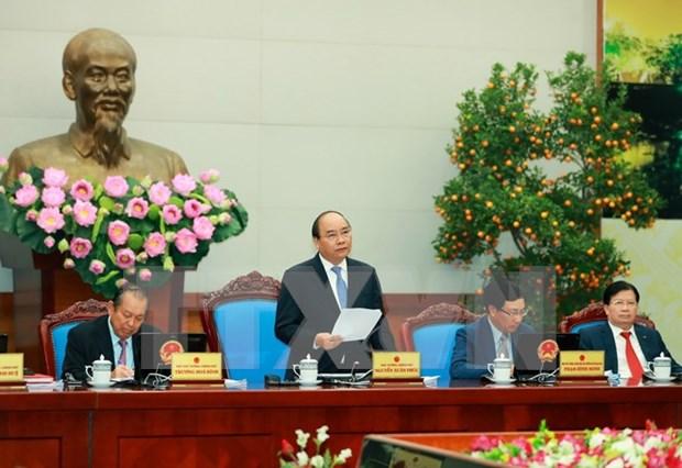 越南政府1月例行会议决议:积极制定新形势下提高国家竞争力的有效措施 hinh anh 1