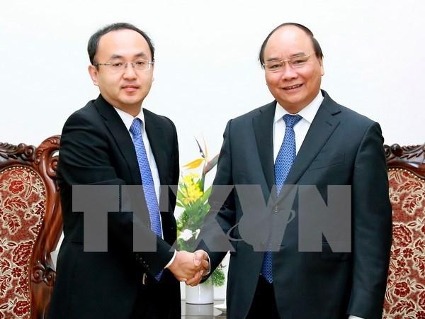 阮春福总理:希望日本努力争取早日成为越南最大的投资来源国 hinh anh 1