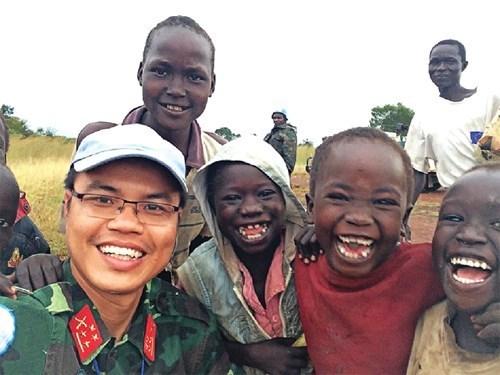南苏丹巡逻路上的难忘纪念 hinh anh 1