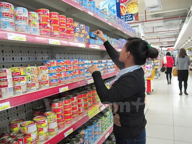 2017年1月份越南消费品零售总额及服务收入同比增长9.9% hinh anh 1