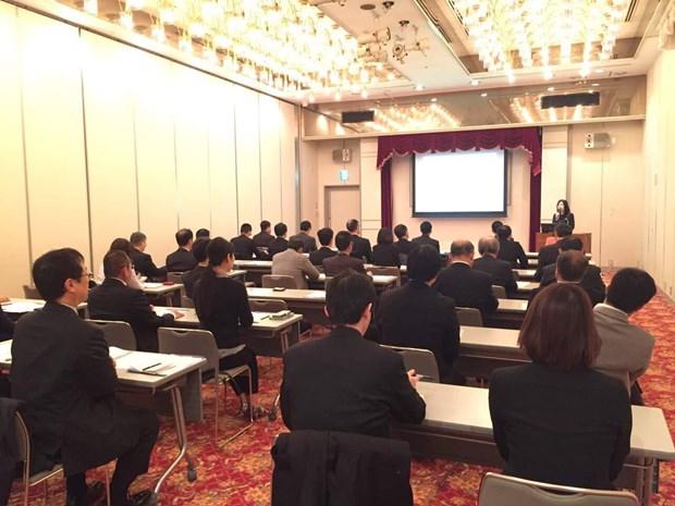 越南投资环境推介会在日本举行 hinh anh 1