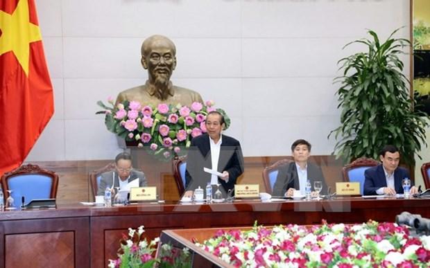 越南政府副总理张和平主持召开工商部行政审批制度改革总结会议 hinh anh 1