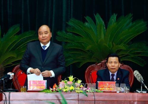 阮春福总理:力争将北宁省发展成为亚洲地区电子制造业之都 hinh anh 1