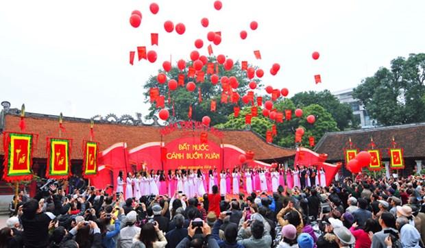 第15次越南诗歌日在全国各地纷纷举行 hinh anh 1