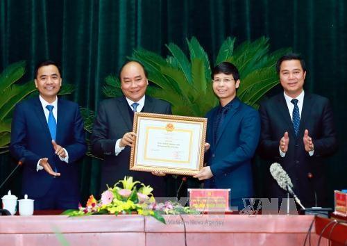 阮春福总理:力争将北宁省发展成为亚洲地区电子制造业之都 hinh anh 2