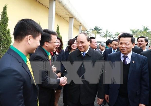 阮春福总理:力争将北宁省发展成为亚洲地区电子制造业之都 hinh anh 3