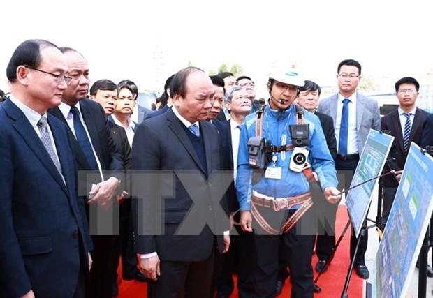 阮春福总理:力争将北宁省发展成为亚洲地区电子制造业之都 hinh anh 4