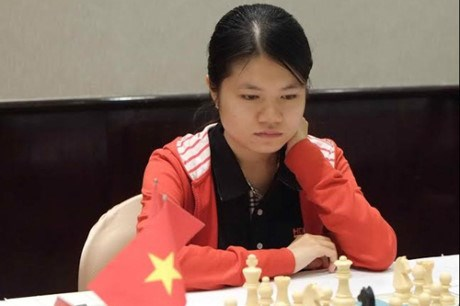 2017年国际象棋女子世锦赛:越南棋手范黎草原取得开门红 hinh anh 1